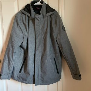 Tommy Hilfiger 3 in 1 Ski Jacket Grey/Black